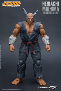 三島流喧嘩空手、邪惡的野心家!!Storm Collectibles 《鐵拳7》三島平八 Heihachi Mishima 1/12 比例可動人偶作品