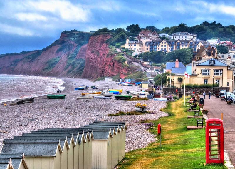 Budleigh Salterton, Devon. Credit Baz Richardson