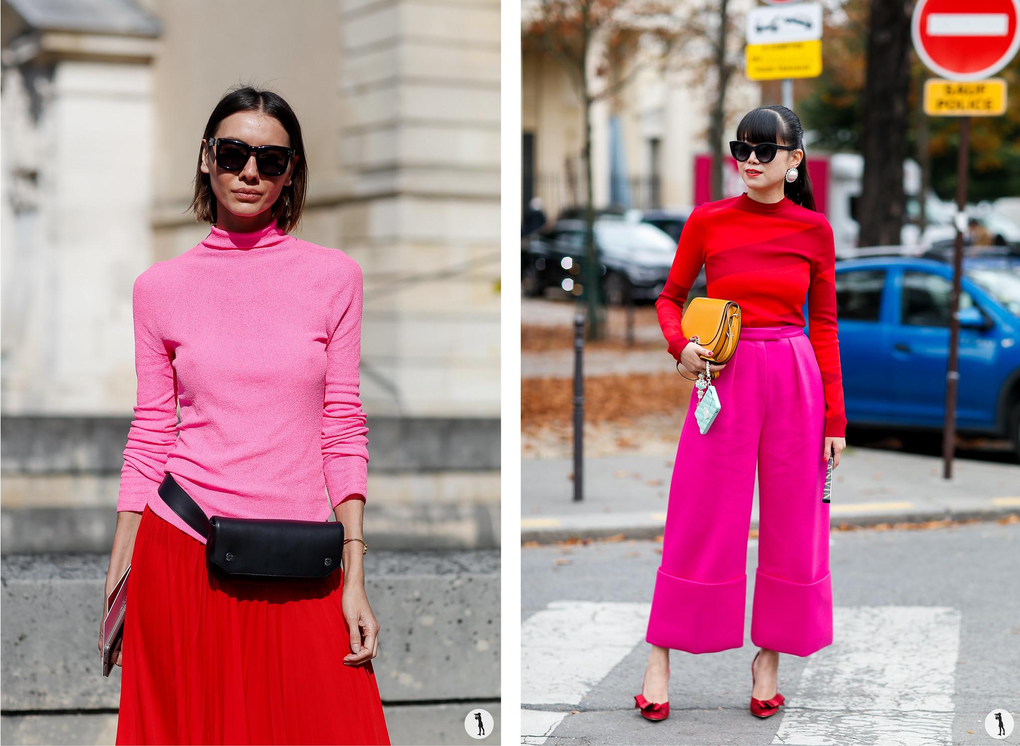 Julie Pelipas and Leaf Greaner - Paris Fashion Week SS18