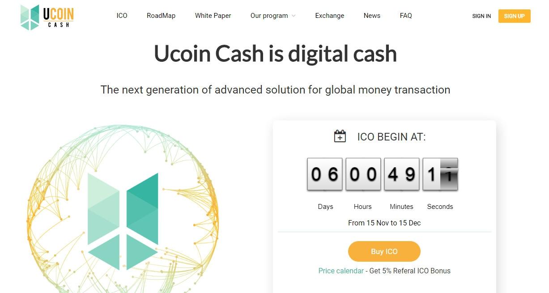 Đánh giá Ucoin Cash lừa đảo? Liệu bạn có nên đầu tư?