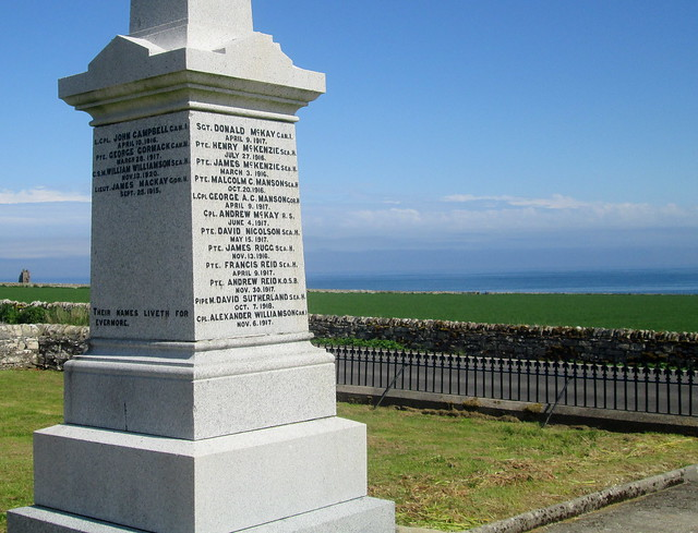 Keiss War Memorial