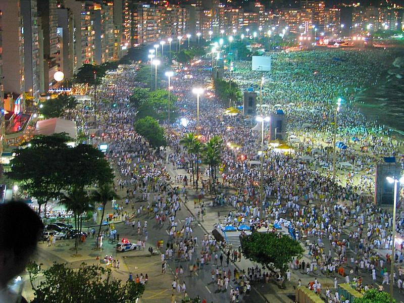 Copacabana Beach New Years Eve