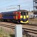 cambs - east midland trains 153311 departs peterborough 10-11-17 JL