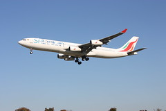 4R-ADC Sri Lankan Airlines Airbus A340-311