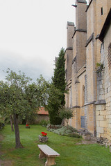 Le jardin des moines - Cathédrale de St Bertrand de Comminges