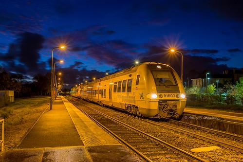 12 novembre 2017 B 81601-81793 Train 865130 Bordeaux -> St Marien-St-Yzan St André-de-Cubzac (33)