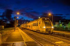 12 novembre 2017 B 81601-81793 Train 865130 Bordeaux -> St Marien-St-Yzan St André-de-Cubzac (33) - Photo of Saint-Genès-de-Fronsac