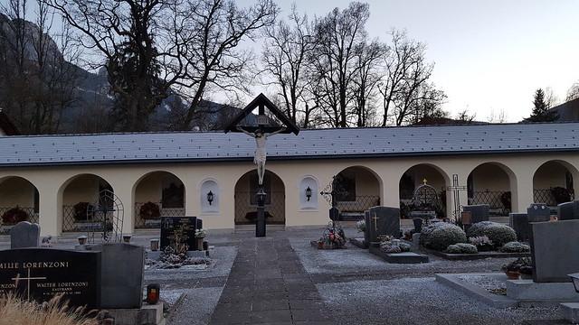 Friedhof Admont - die Gräber der Mönche