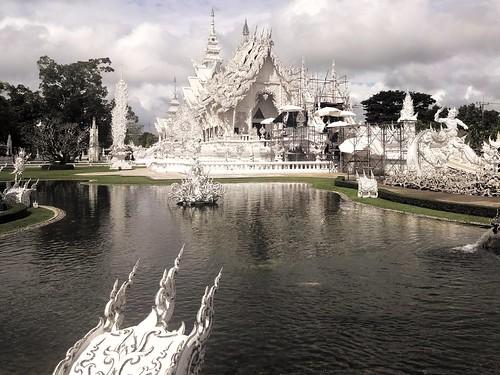Thaïlande Temple blanc de Chiang Raï