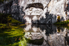 Lion Monument (Lion of Lucerne), Lucerne, Switzerland / SML.20150921.6D.34373.E1