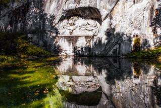 Lion Monument (Lion of Lucerne), Lucerne, Switzerland / SML.20150921.6D.34373.E1