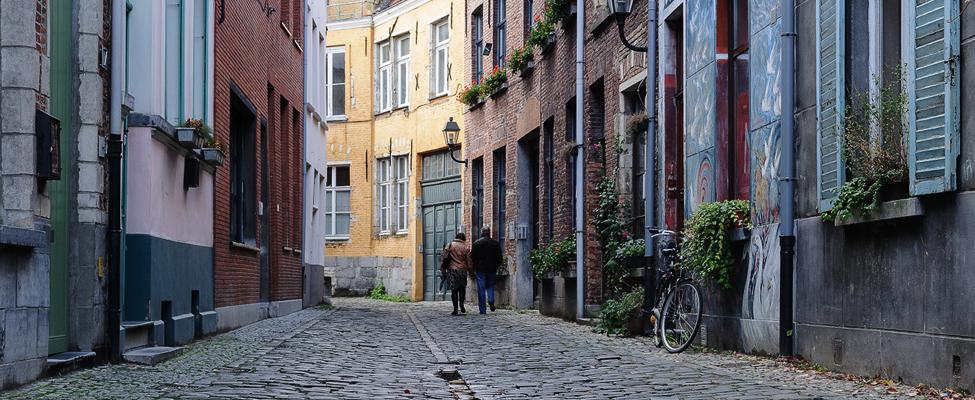 Stedentrip Gent, bezienswaardigheden: Patershol | Mooistestedentrips.nl