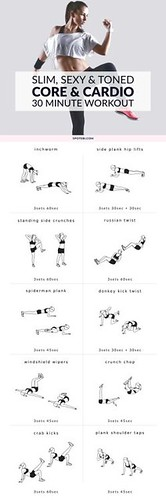 Work your abs, obliques and lower back with this bodyweight…