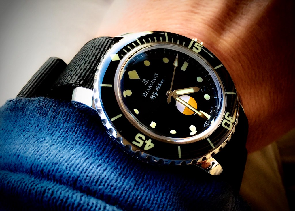Blancpain Tribute to Fifty Fathoms MilSpec, Blancpain Milspec