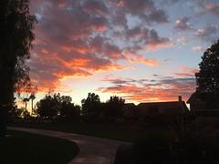 Menifee Lake sunset
