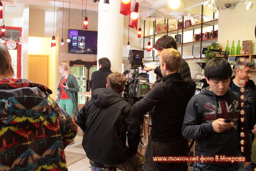 На съемках Телесериал «Меч. Сезон второй.» и фотограф