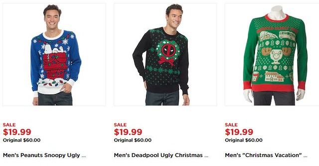 1699 Ugly Christmas Sweaters At Kohls Regularly Up To 60