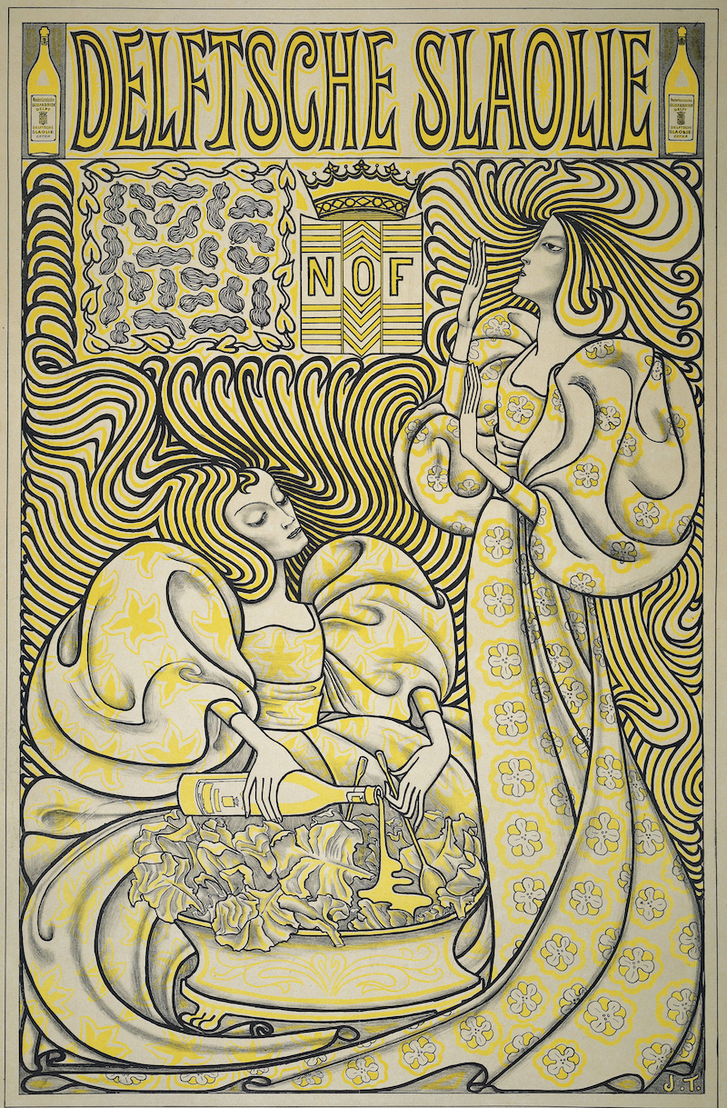jan toorop salad oil