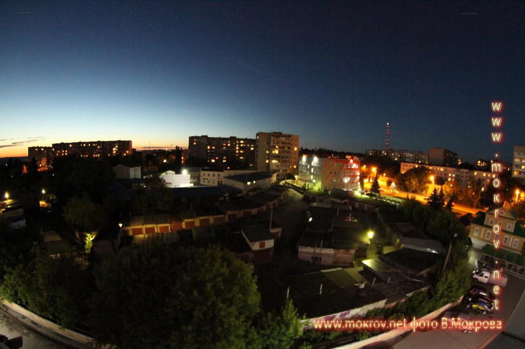 Город Калуга фотографии сделанные днем и вечером