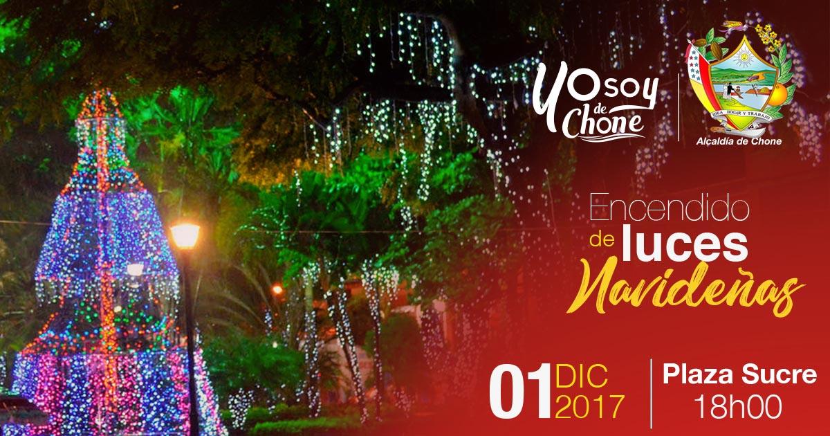 El 1 de Diciembre se realizará el encendido de las luces de Navidad