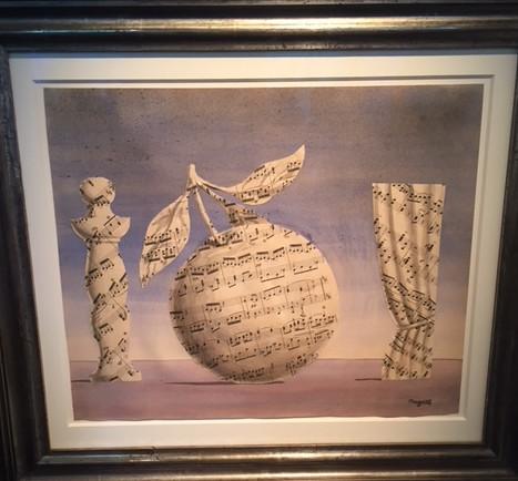 Rene Magritte La Pensee Visible