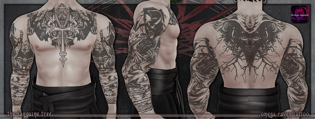 [ new release – omega raven tattoo ]