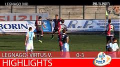 Legnago-Virtus V. del 26-11-17
