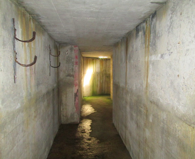 Air-raid Shelter Corridor, Lyness Naval Museum, Hoy, Orkney