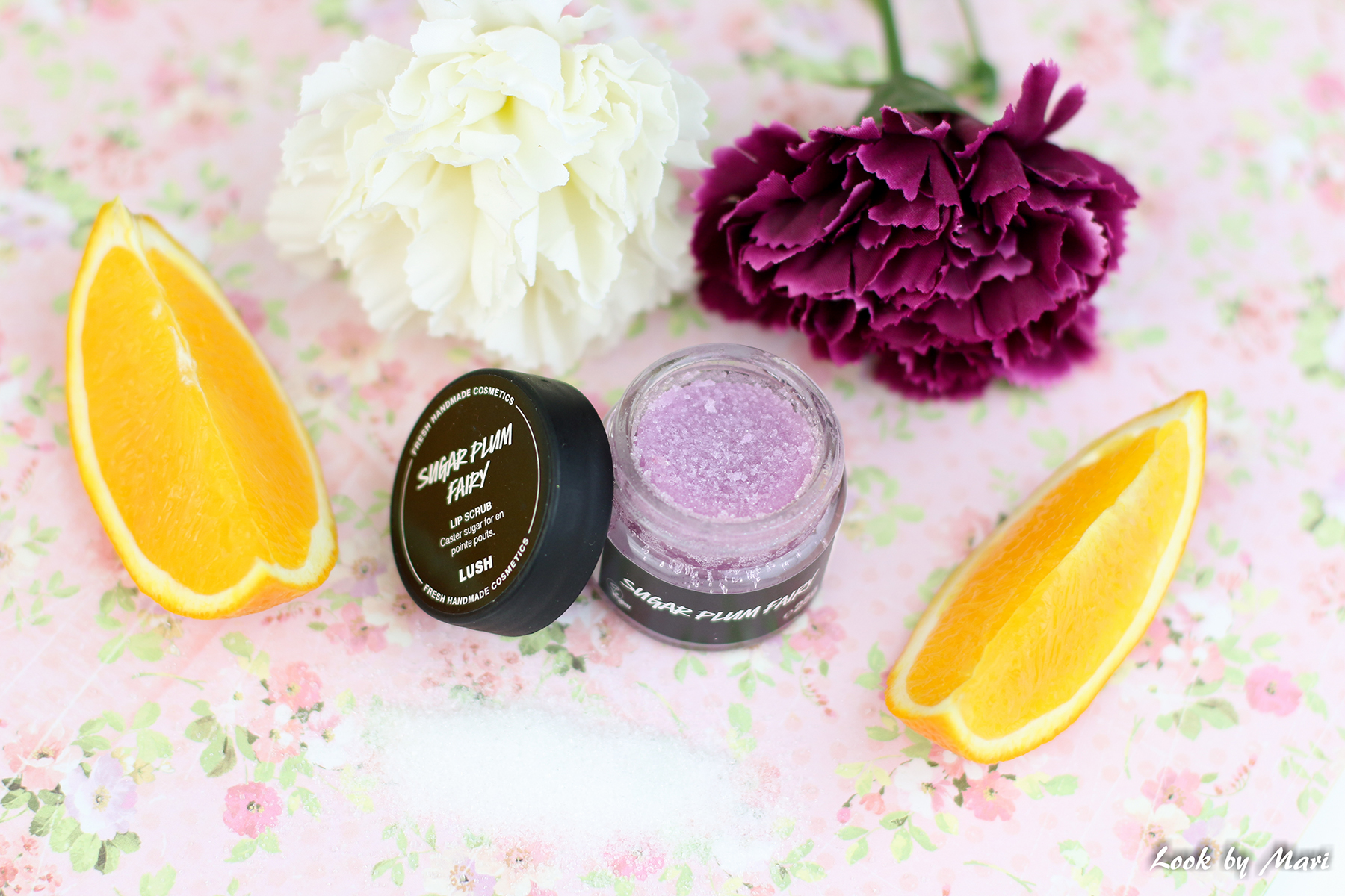 9 lush sugar plum fairy lip scrub review scent blog price inci