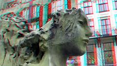 Fontein Rokin Amsterdam 3D