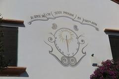 Rellotge de sol del Restaurant La Masia, Sitges