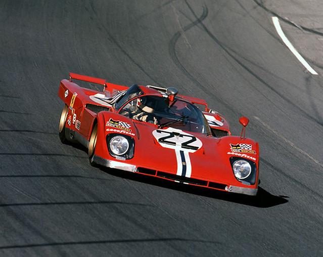1971 Daytona 24 - Posey-Revson Ferrari 512M