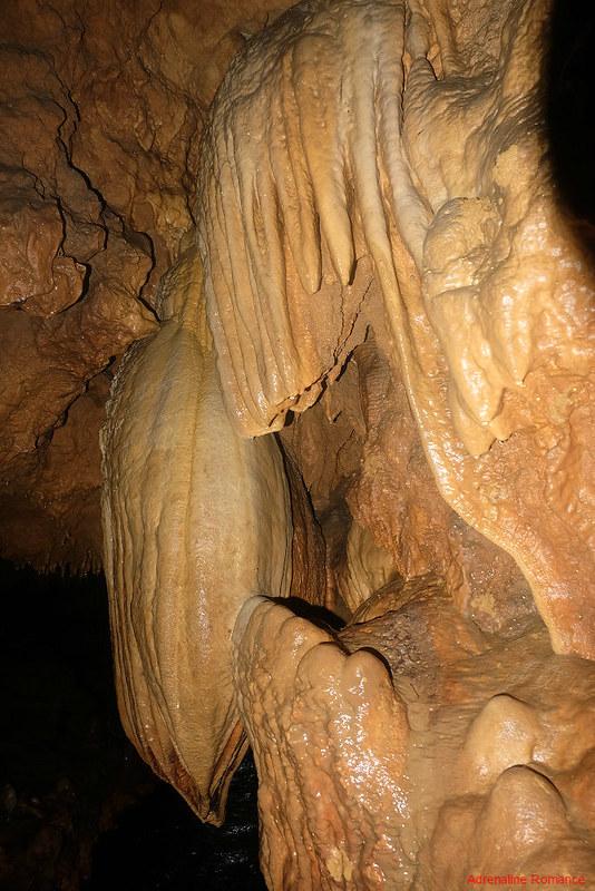 Flowstones in Maanghit Cave