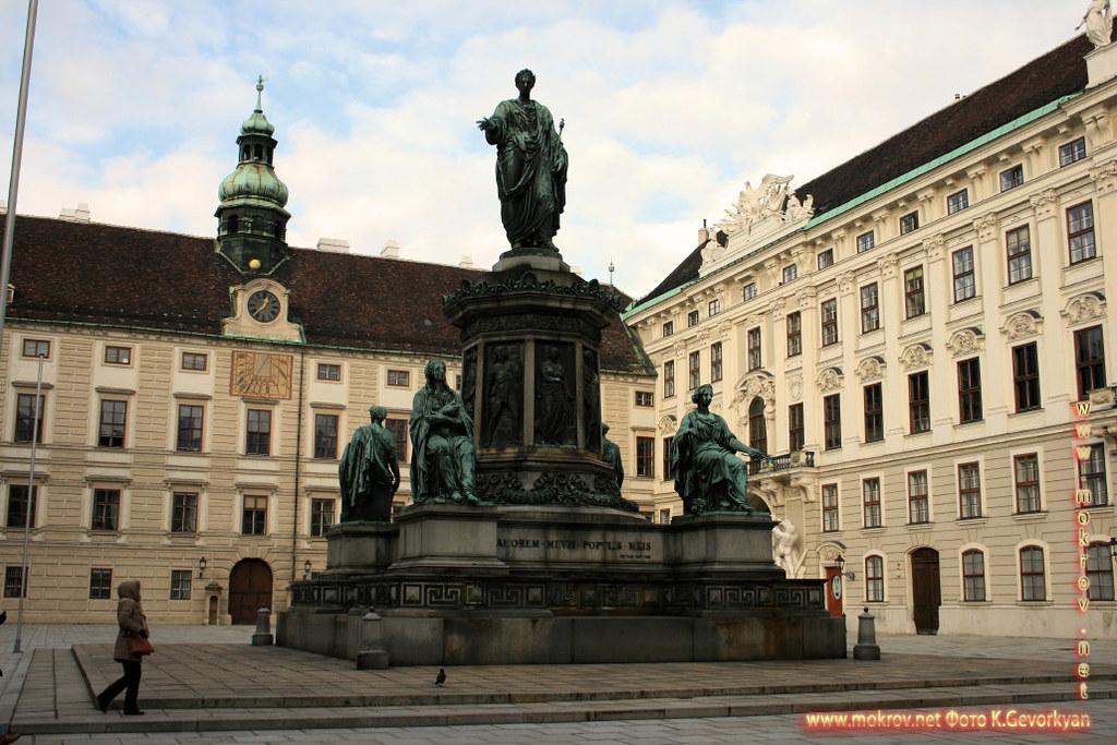 Город Вена, столица Австрии и фотограф