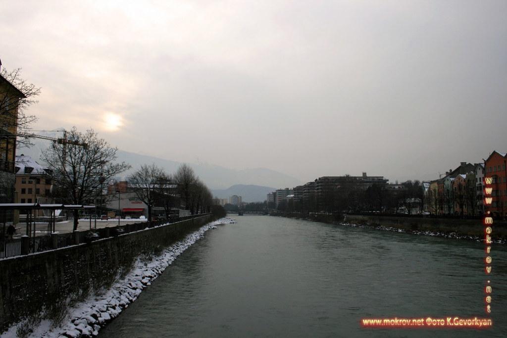 Инсбрук — город в Австрии фотографии