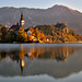 Slovenia - Bled Island in Lake Bled by Fujjii photographie