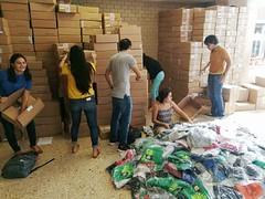 Redoblan esfuerzos en apoyo a damnificados por sismo