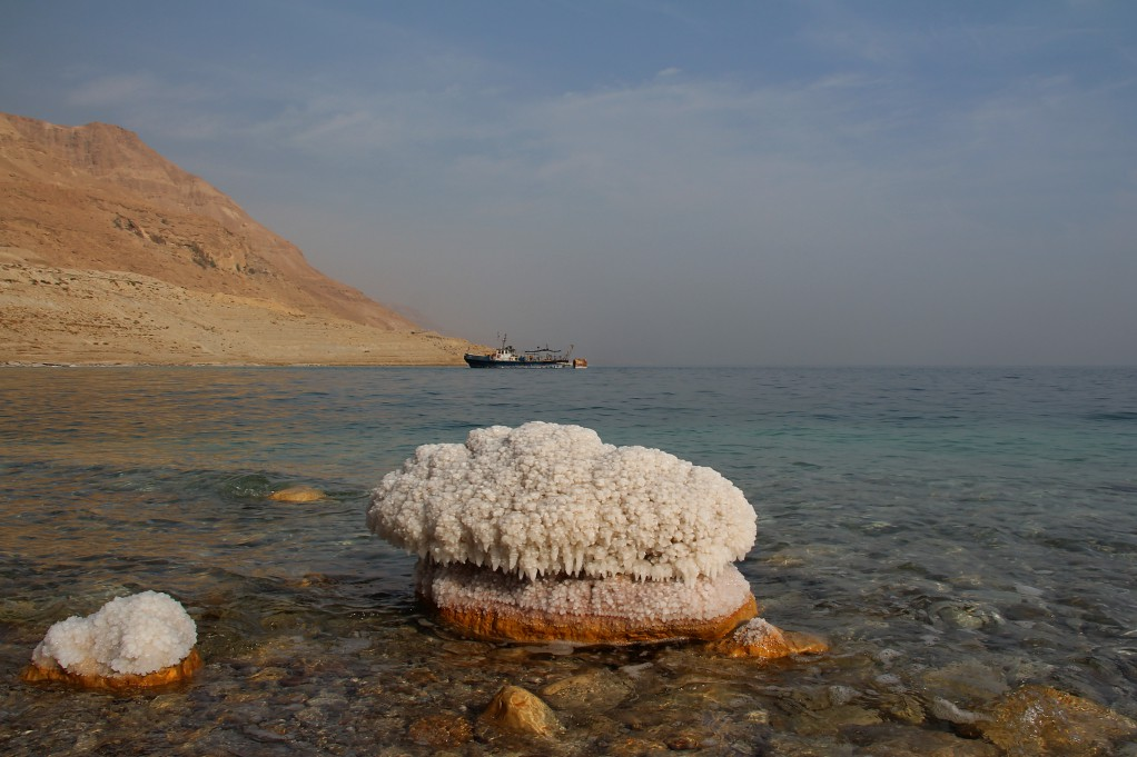 Секретные пейзажи Мертвого моря, часть первая