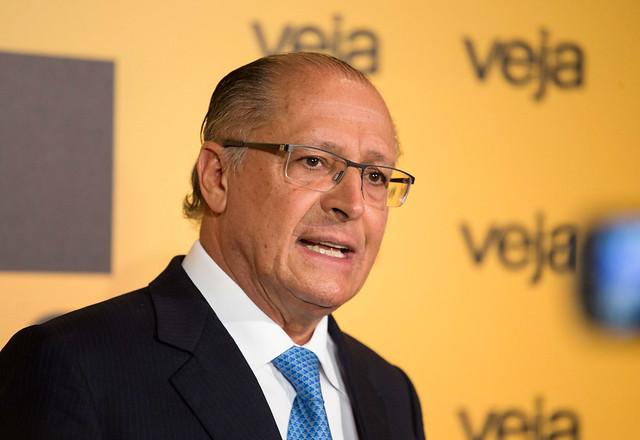 Alckmin foi diretamente beneficiado pela derrocada política de Aécio Neves - Créditos: Luis Blanco/A2IMG