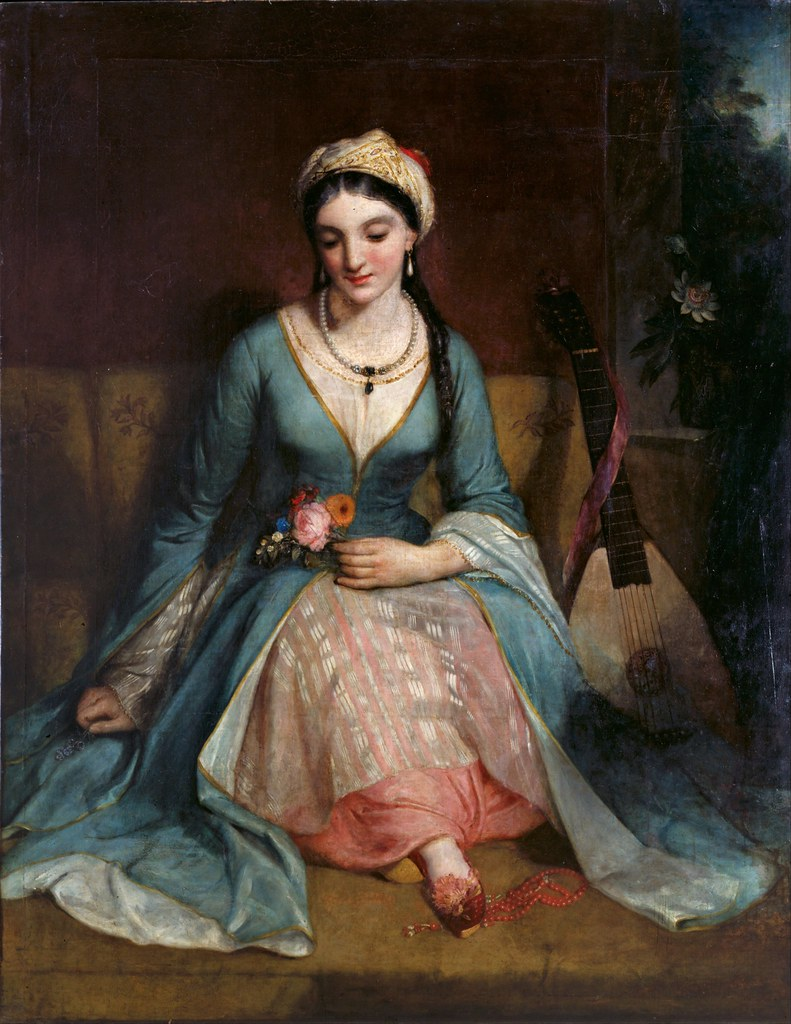 Henry William Pickersgill - A Young Greek Woman (1829)