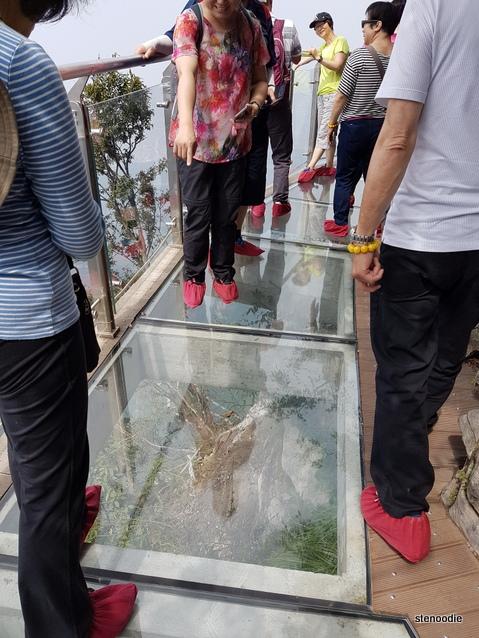 Tianmen Mountain glass cliff path