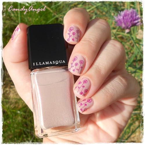 pink raindrops - Illamasqua