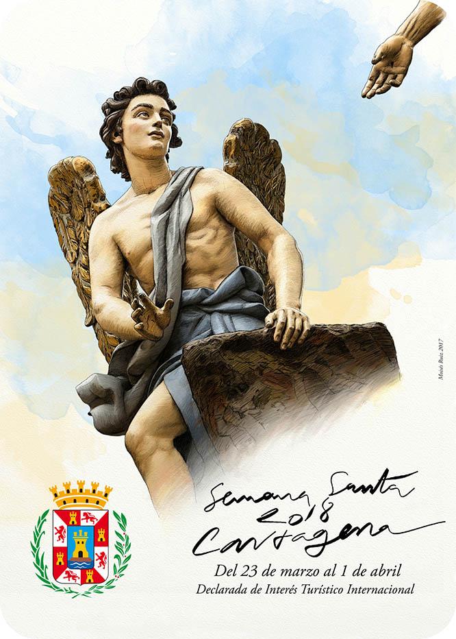 Una pintura de Moisés Ruiz gana el cartel de Semana Santa