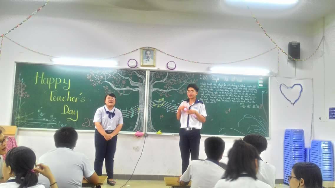 Hoạt động tri ân thầy cô