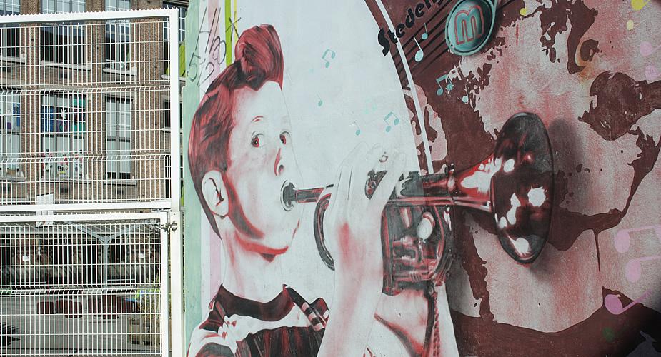 Streetart in Antwerpen, St. Andries | Mooistestedentrips.nl