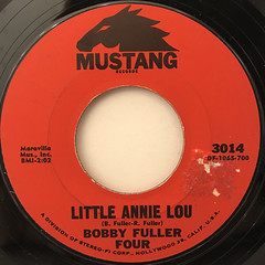 BOBBY FULLER FOUR:I FOUGHT THE LAW(LABEL SIDE-B)