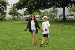 Hawaiian Electric at Hui o Koolaupoko's Kaha Garden Community Work Day - November 11, 2017: Dawn W.