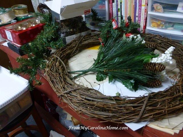 Holiday Wreaths at From My Carolina Home