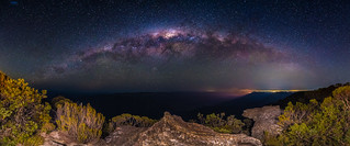 Kings Tableland  and  The Milky Way.