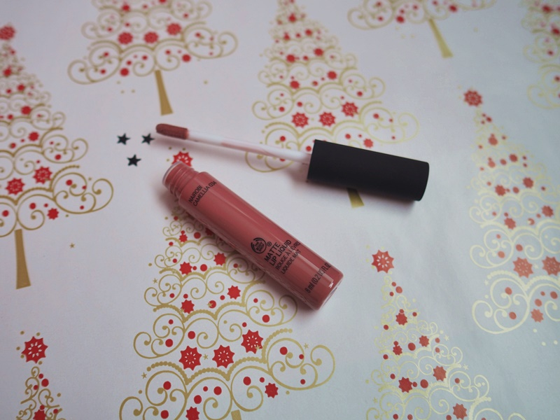 the body shop matte lip liquid nairobi camelia
